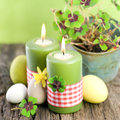 Easter Candles Stock Image - 29008161
