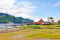 Alaska Icy Strait Point Cannery Landscape Royalty Free Stock Photography - 29020187