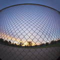 Chain Link Fence Stock Image - 29020261