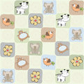 Childish Seamless Pattern With Toys Royalty Free Stock Image - 29028916