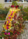 Autumn Color Decoration Flowers Leaves Fair Royalty Free Stock Photography - 29032027