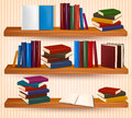 Bookshelf With Colorful Books Stock Photography - 29033432