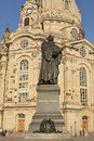 Statue Of Martin Luther In Dresden Royalty Free Stock Photography - 29037627