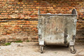 Metal Garbage Containers Stock Photos - 29037653