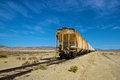 Long Rusting Train Stock Images - 29039614
