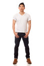 Casual Young Man Stock Photography - 29040212