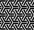 Black Geometric Seamless Pattern Royalty Free Stock Image - 29044716