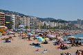 Lloret De Mar In Costa Brava, Catalonia, Spain Stock Images - 29055314