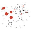 The Game Of The Dots, Cow Stock Photos - 29064403