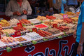 Bangkok, Thailand, September 24. Street Tray With Food Asia Stock Photography - 29085072