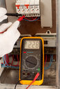 Measuring With Multimeter Stock Photos - 29085173