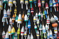 Colorful Maine Lobster Buoys Royalty Free Stock Photos - 29091608