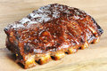 Grilled Barbecue Ribs Stock Images - 29095594
