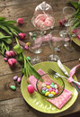 Easter Table Setting Stock Images - 29098204