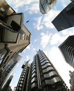 Fisheye Of Swiss Re Building Royalty Free Stock Images - 2917299