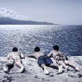 Boys Looking At The Sea Stock Photos - 2919903