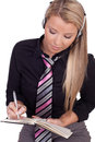 Personal Assistant Making An Appointment Royalty Free Stock Photography - 29101707