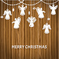 Merry Christmas Greeting Card Stock Photos - 29104483