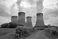 Power Station Cooling Towers Stock Photo - 29105360