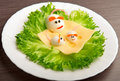 Design Of Food For Children. Eggs In The Shape Of Mouse Stock Photos - 29133263
