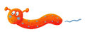 Cute Orange Worm Royalty Free Stock Photography - 29140147