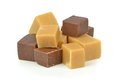 A Pile Of Vanilla Chocolate Toffee Fudge Royalty Free Stock Photo - 29143055