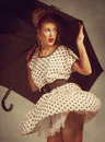 Pin Up Girl Royalty Free Stock Images - 29148609