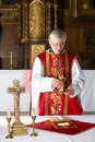 Priest During Mass Stock Photography - 29156922