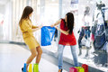 Fight For Shopping Bag Stock Image - 29178311