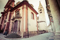 View Of Narrow Jirska Street In Prague Castle Stock Image - 29181951