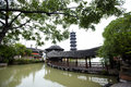 Chinese Pagoda In Wuzhen Town Royalty Free Stock Photo - 29183925