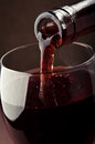 Pouring Red Wine Royalty Free Stock Photography - 29185097