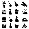 Cleaning Supplies And Tools Royalty Free Stock Photos - 29194758