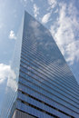 Skyscraper In The Clouds Royalty Free Stock Photo - 2922345