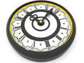 Clock. Nine O Clock. 3d Stock Images - 2924474