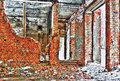Destroyed And Burned The Interior Of The Old House Stock Photography - 29202972