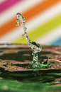 Water-drop Collission Stock Images - 29216324