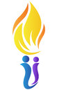 People Torch Stock Photography - 29224932