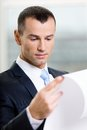 Close Up Of Businessman With Draft Stock Images - 29226134