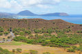 Diamondhead Crater With Koko Head In The Distance Stock Photos - 29233483