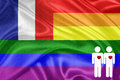 Rainbow Gay Flag Royalty Free Stock Images - 29237429