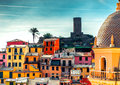 View Of Vernazza Stock Photography - 29246842