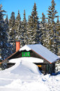 Cottage On Schneeberg In Austria Royalty Free Stock Images - 29252549