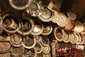 Ottoman Style Copper Decorative Object In Grand Bazaar, Istanbul. Stock Photography - 29259972
