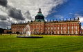 New Palace (Neues Palais) In Park Sanssouci In Potsdam Royalty Free Stock Image - 29263816