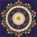 Oriental Pattern And Ornaments Royalty Free Stock Photography - 29271397