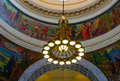 The Lights In Utah State Capitol Rotunda Royalty Free Stock Images - 29276009