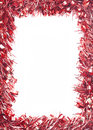 Red Christmas Tinsel Garland Stock Photos - 29278193