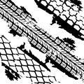 Abstract Background Tire Prints Stock Image - 29298451