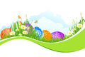 Beautiful Easter Holiday Background Stock Image - 29299381